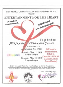 Benefit for Camp Corazones